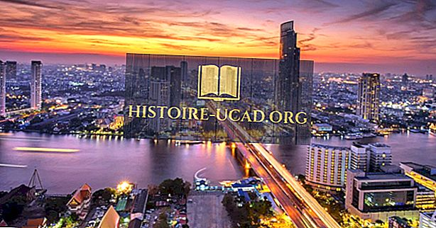 Was ist die Hauptstadt von Thailand?
