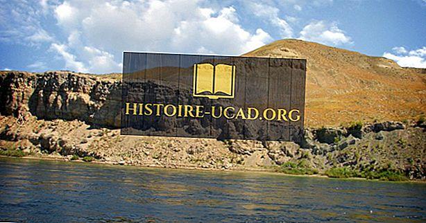 Hanford Reachi riiklik monument - unikaalsed kohad Põhja-Ameerikas