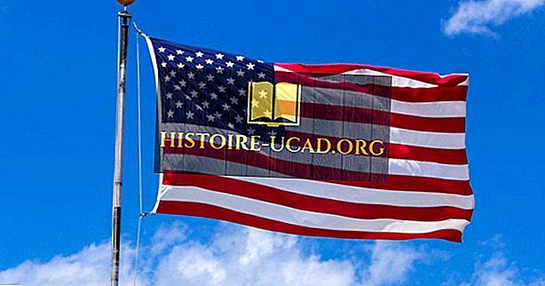 Αμερικανική σημαία: η σημαία των Ηνωμένων Πολιτειών της Αμερικής