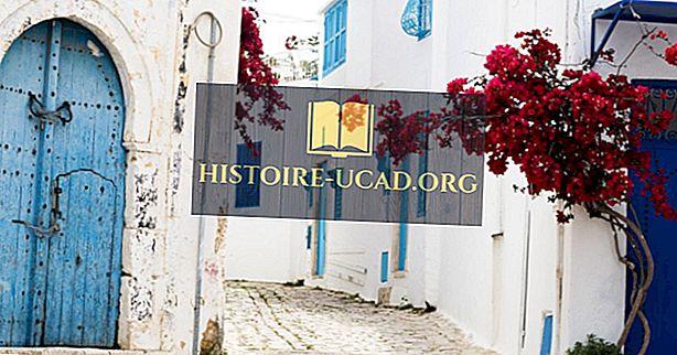 Sidi Bou Said, Tunizija - edinstveni kraji po svetu