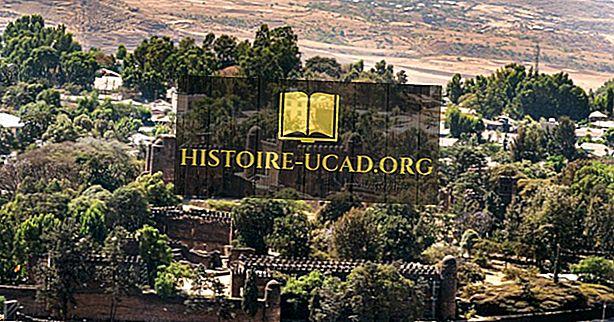 Gondar, Etiopie - jedinečná místa po celém světě