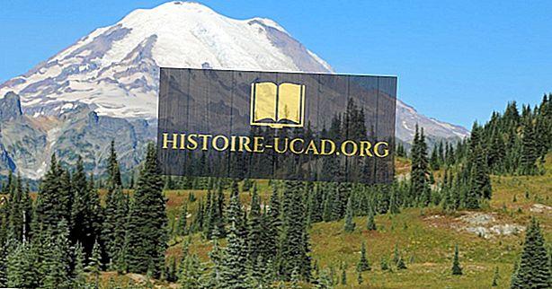 10 nejvyšších vrcholů v americkém státě Washington