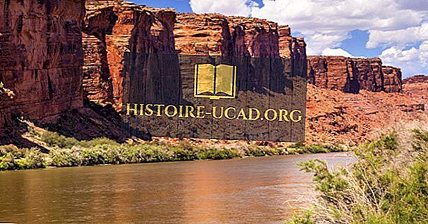 10 najdaljših rek v Utahu