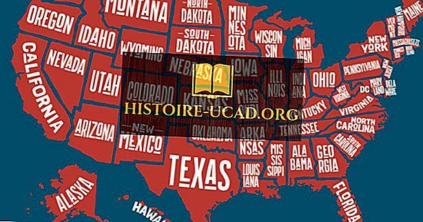 Statele unice la țară fără frontiere ale Statelor Unite