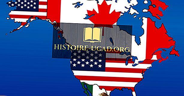 Em que continente estão os Estados Unidos da América?