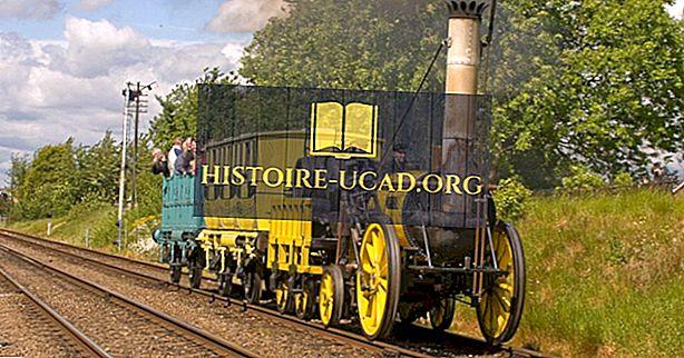 Cine a inventat calea ferată?