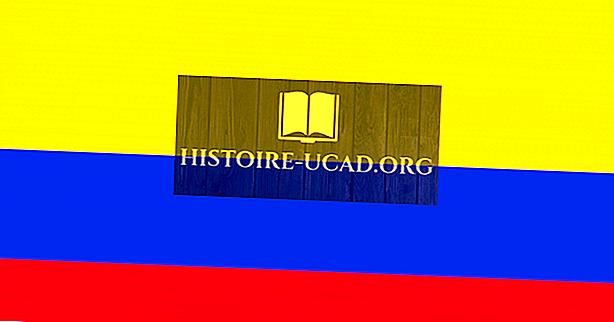 Что означают цвета и символы флага Колумбии?