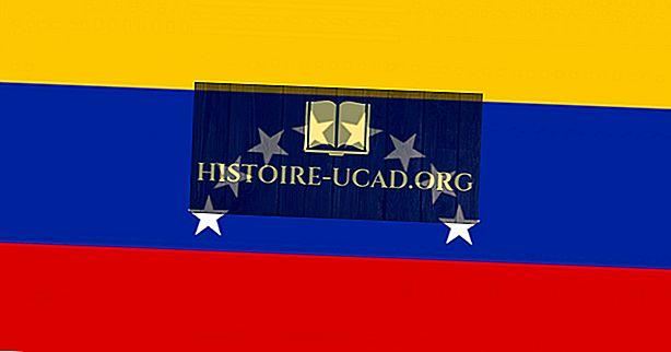 Kaj pomenijo barve in simboli zastave Venezuele?