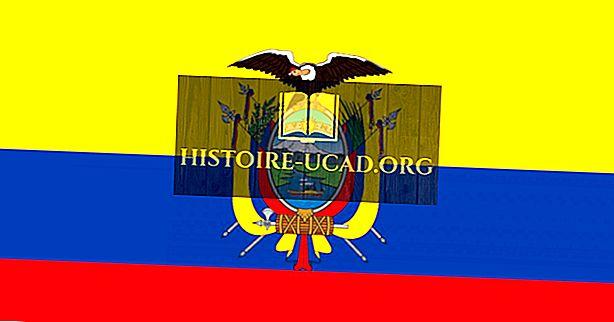 Mida tähendavad Ecuadori lipu värvid ja sümbolid?