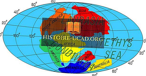 ماذا كانت شبه جزيرة لوراسيا؟