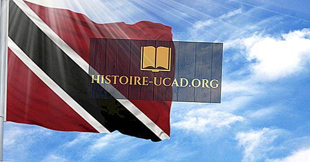 Какво означават цветовете и символите на знамето на Тринидад и Тобаго?