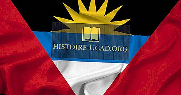 Kaj pomenijo barve in simboli zastave Antigve in Barbude?